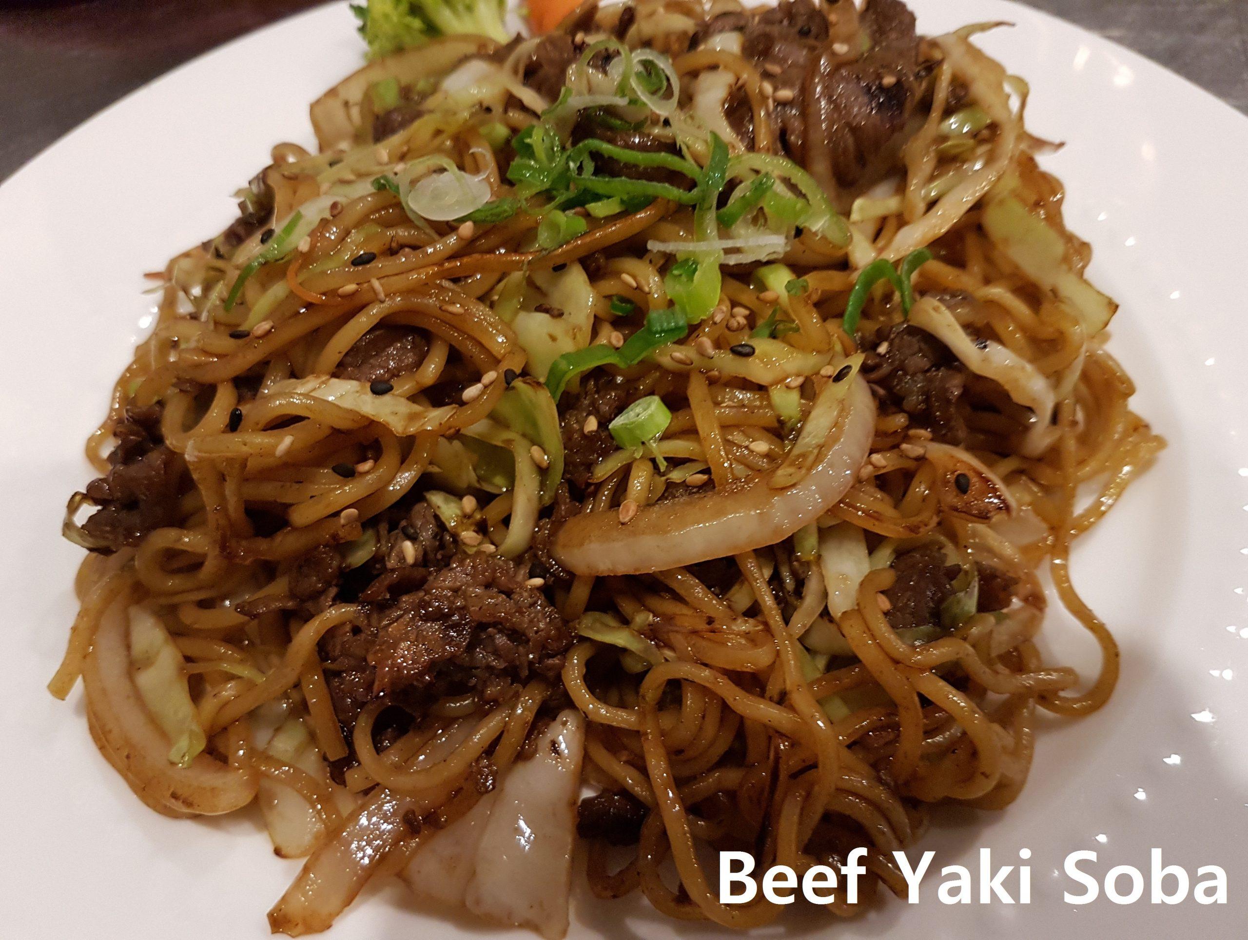 Beef yaki soba(n)