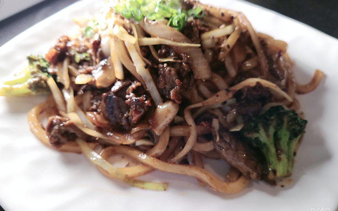 Beef Stir-Fried (Yaki) Udon