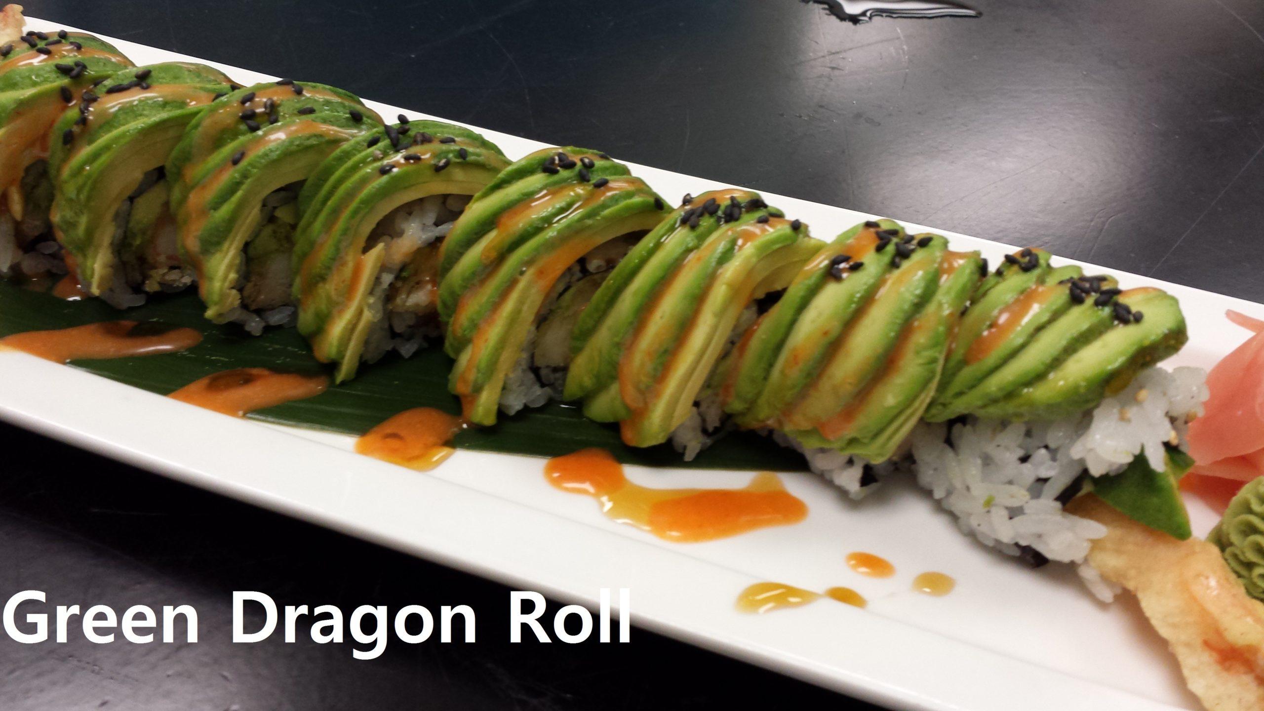 Green Dragon Roll(n) - Copy