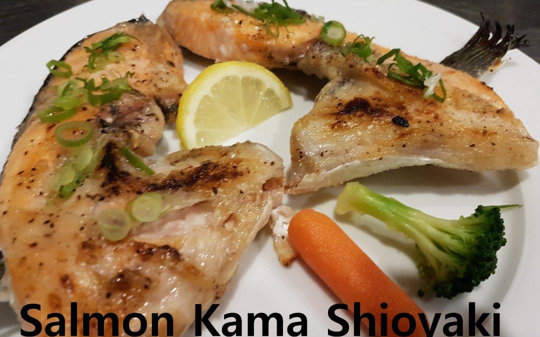 Salmon Kama Shioyaki