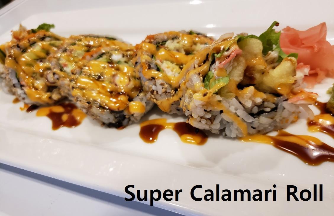 Super Calamari Roll