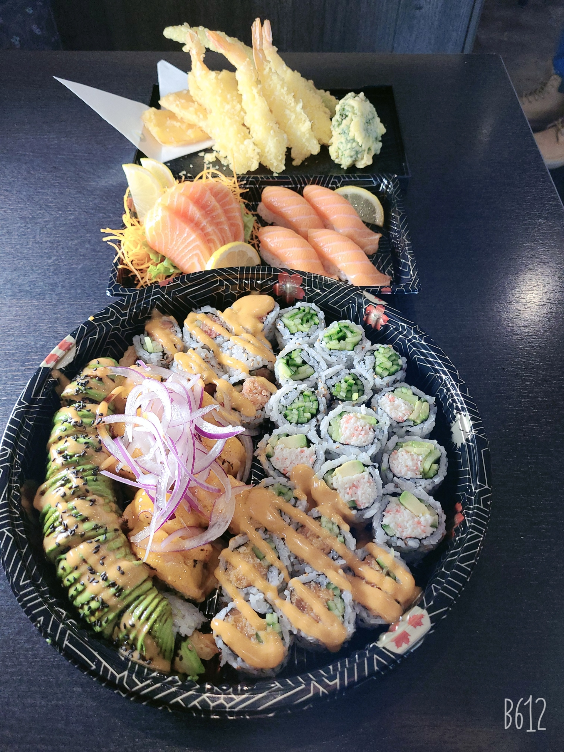 assorted combo tray
