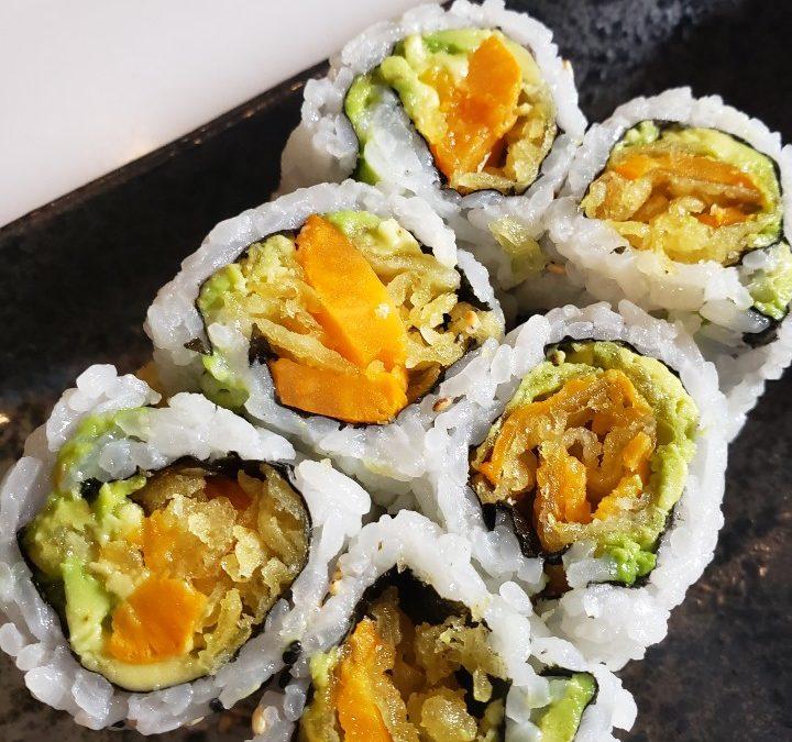 avocado yam roll