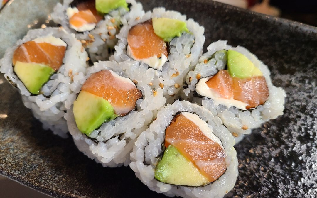 salmon avo cream