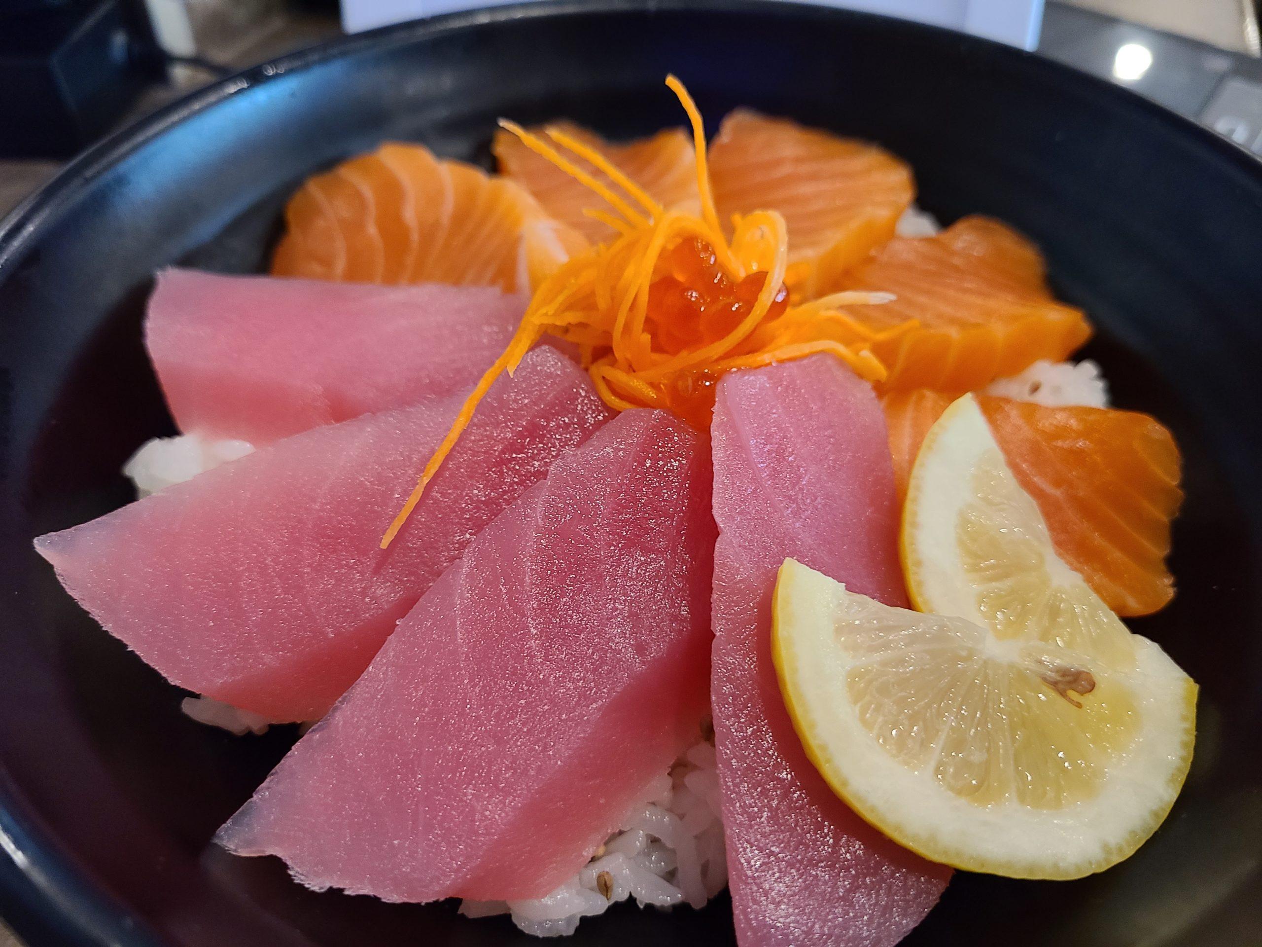 tuna salmon don